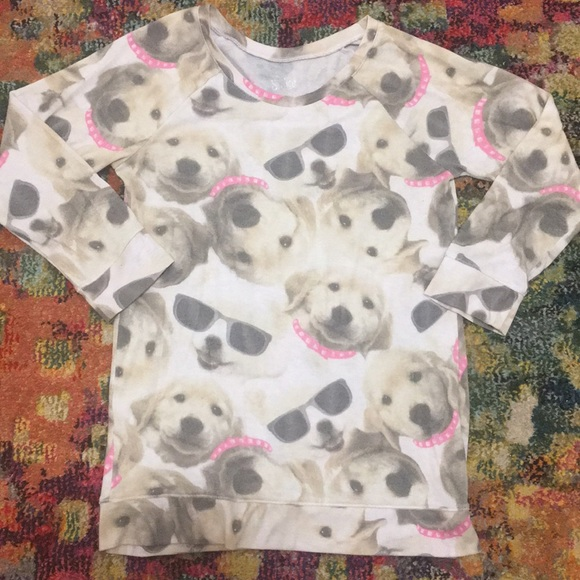 12eec06e93eb Justice Shirts & Tops | For Girls Puppy Shirt Size 16 | Poshmark